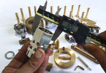 Brass Valves and Fittings Components
