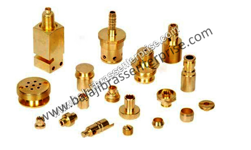 Brass turned components forging
